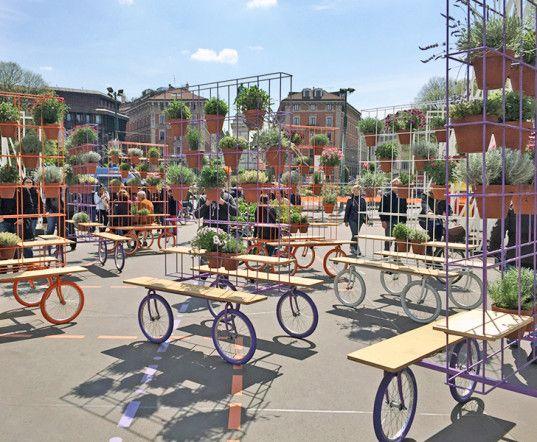 green design, eco design, sustainable design, A4A Rivolta Savioni Studio, urban garden, Expo Gate Milano, Salone del Mobile, Why not in the garden?, urban garden, modular garden