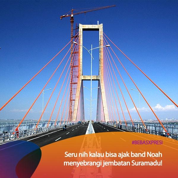 Pengen Noah konser di Surabaya vote dong untuk Surabaya di bebasxpresi.com ! #BebasXpresi