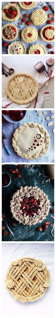 Украшаем пироги