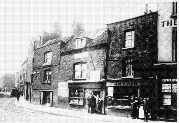 Poplar High Street 1800's