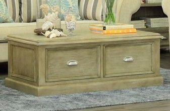 Classic 2 drawer Coffee Table in oak Michael Murphy Furniture.