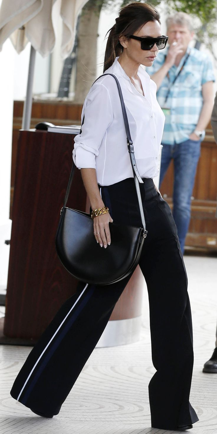 The 17 Best Celebrity Street Style Pictures from the Cannes Film Festival - Victoria Beckham from InStyle.com