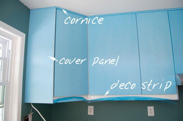 Common Kitchen Design Mistakes Overlooking Fillers And Panels: Cornice & Deco Strip