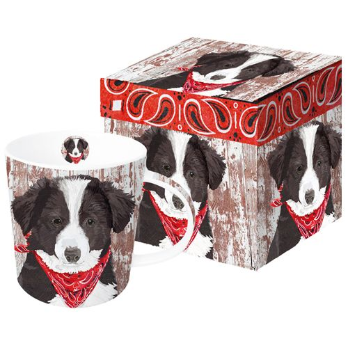 Our #TwoCanArt #BorderCollie #Mug #Dogmug and #KeepsakeBox A % of sales go to #Autism organizations