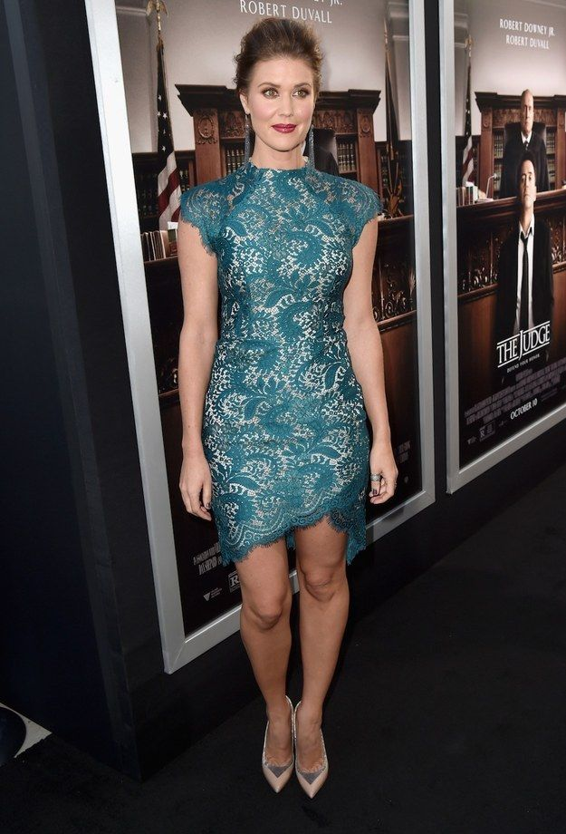 """Sarah Lancaster At The Premiere Of """"The Judge"""""""