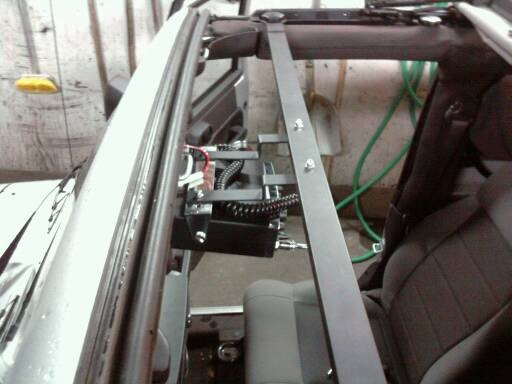 Cb Radio Mount Jeep Wrangler Ideas Pinterest Jeep Jeep