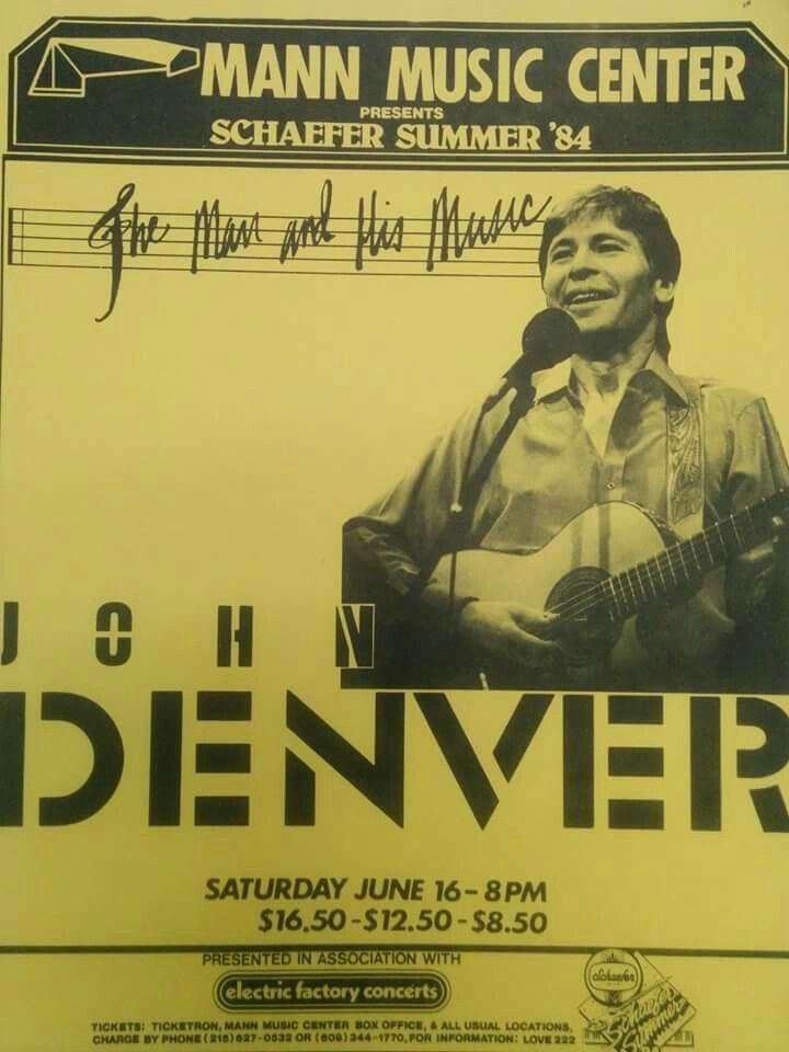 604 Best John Denver Paper Memorabilia Images On Pinterest