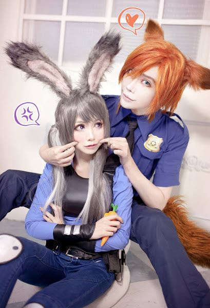 Judy and nick cosplay