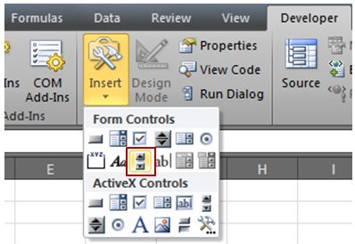 how to create a space between bars on exel