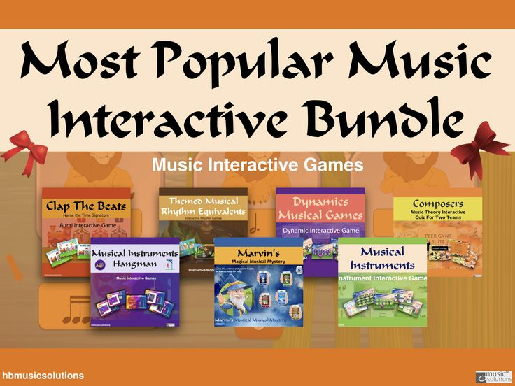 Most Popular Music Interactive Games