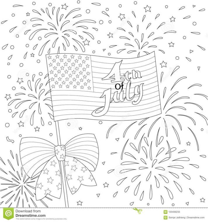 Usa Flag Coloring Page Printable American For Kindergarten Free Colouring Sheet Preschoolers United States Pdf Awesome Rocket League Pages Clouds Spooky Kids Di 2020