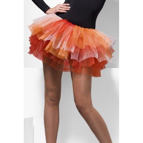 Petticoat - Vurig Oranje