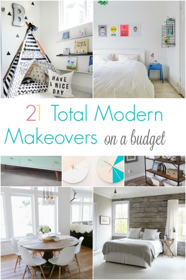 Modern makeovers for your home that can be done on a budget
