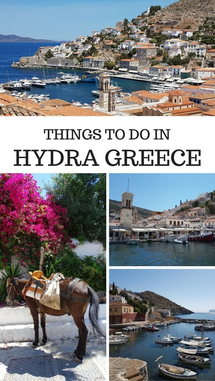 Things to do in Hydra island Greece