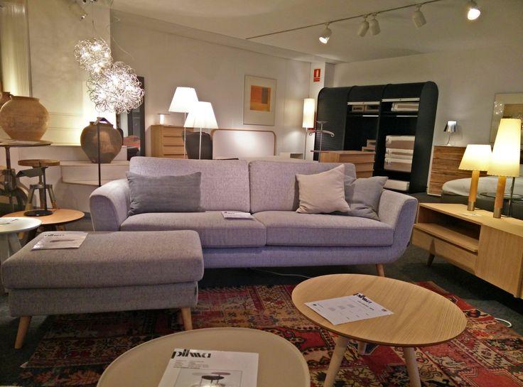 Sofá SLIM y mobiliario PLM Design