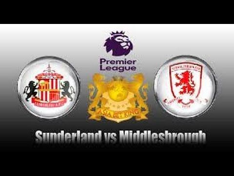 Sunderland vs Middlesbrough 1 - 2  Live Stream 21/8/2016 - Premier Leagu...