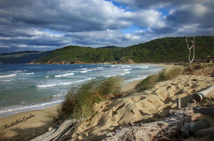 Mandraki Beach in Skiathos Island by Konstantinos Goulas