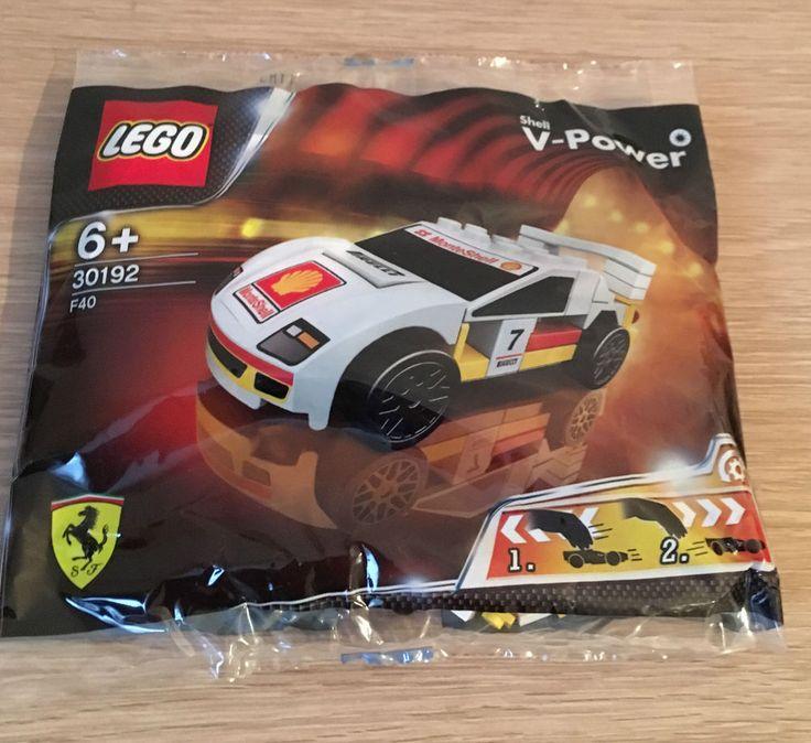 Lego Shell V-Power 30192 Ferrari F40 Promo Set New / Sealed 5702015035248 | eBay