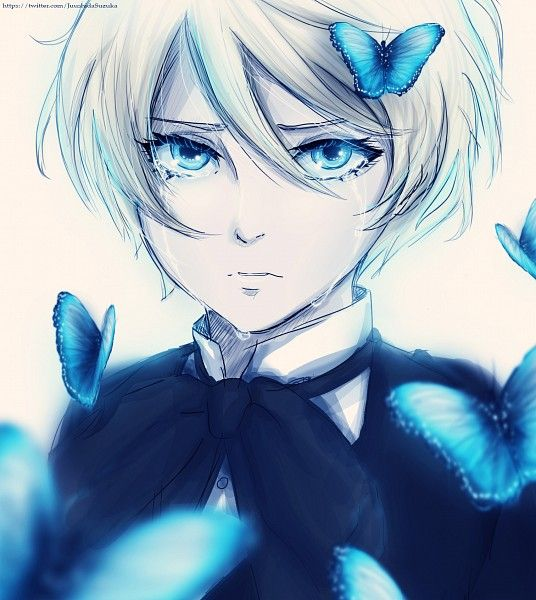 Alois Trancy (Black Butler) << no he's crying and now i'm crying