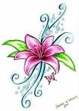 larkspur tattoo design - Yahoo Image Search Results