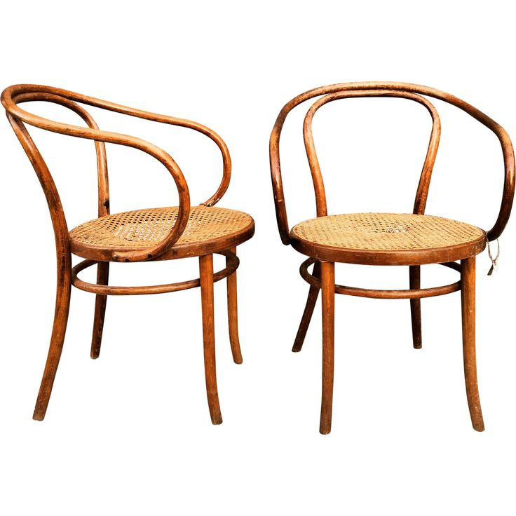 Vintage Thonet Cane Chairs