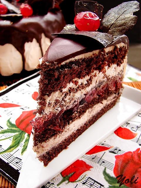Cherry cake. Bulgarian recipe #Cake