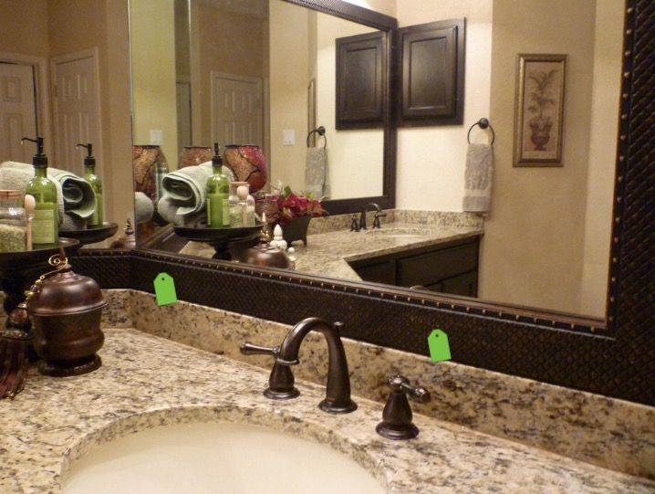 mirrormate mirror frame kit bathroom mirrors austin by mirrormate