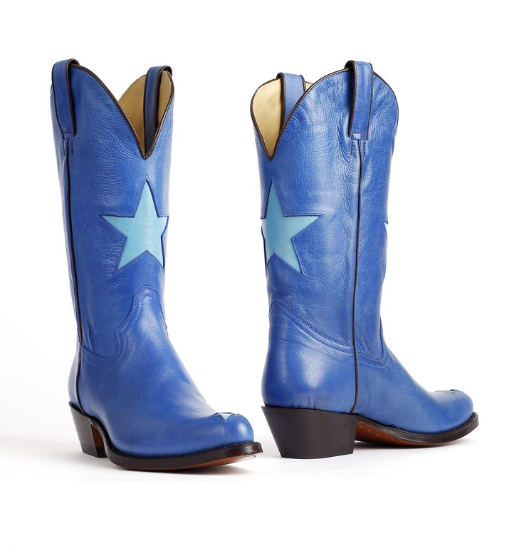 Tony Mora- sapphire blue cowboy boots with star. International shipping -> free shipping in Europe. E-mail us!  http://www.boeties.nl/tony-mora-laarzen-2135-savoy-turquesa