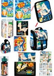 15 tlg. Disney Phineas and Ferb Perry Schulranzen Set Kinder