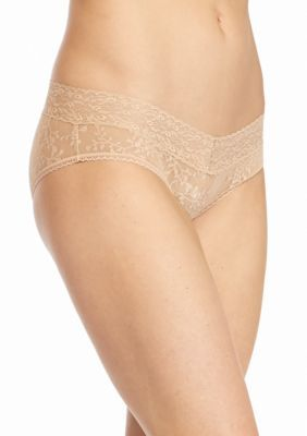 Calvin Klein Women's Bare Lace Hipster- Qd3597 - Bare - S