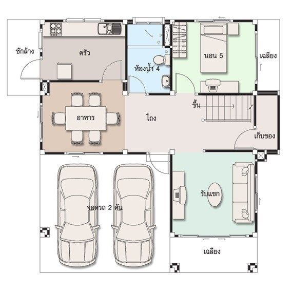 House Design Plan 10x10 5m With 5 Bedrooms 4 Bedroom House