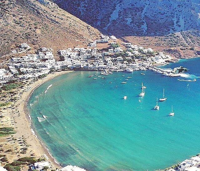 Sifnos island (Σίφνος) So Beautiful Kamares beach and so wonderful & picturesque island .