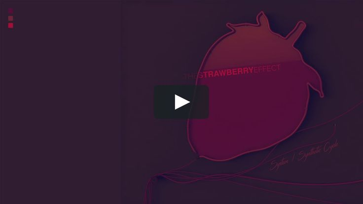 The Strawberry Effect   System / Synthetic Cycle Animation / Motion Graphics Video / NYC W34 Hudson River High Line + / ITU Diploma Project by Meric Arslanoglu   2017