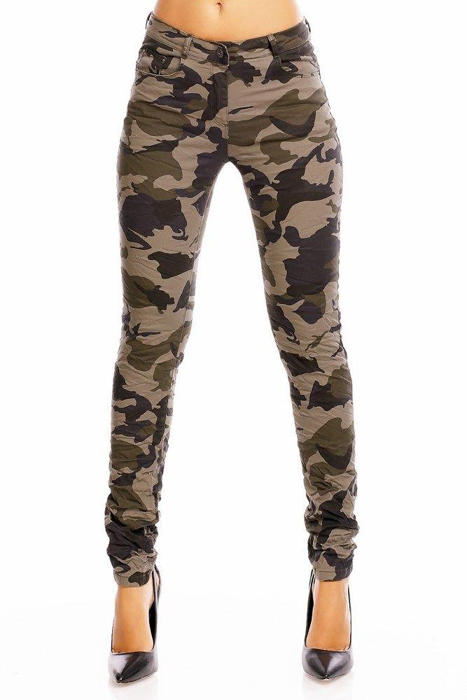 Dámske nohavice- elastický materiál zaručuje pohodlie- materiál: 93% bavlna, 3% elastan