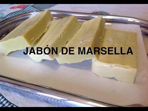 Jabón de Marsella hecho en casa. - YouTube