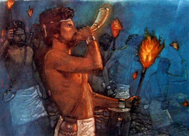 gideon men The men of penuel likewise refused to honor gideon's request — jg 8:4-9  arriving at karkor where the invaders, reduced to about 15,000 men, were encamped, gideon struck the camp while the.