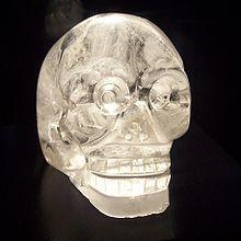 Crâne de cristal - Wikipédia
