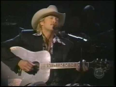 "This song gives me chicken skin every time I hear it - makes we want to cry. GREAT song by Alan Jackson - ""Where Were You When the World Stopped Turning"" (...that September Day) - LIVE"