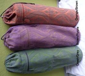 Barefoot yoga mat bag $35