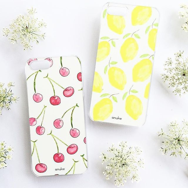 Cherry Bomb and Lemonade - iPhone and Samsung case #anukedesign #iphonecase #samsungcase #cherryiphonecase #cherrybomb #lemonade #lemoniphonecase
