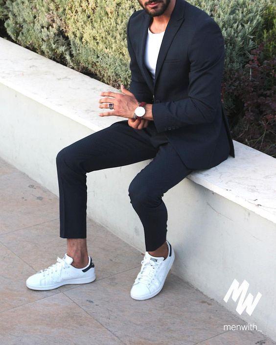 b6a7ef87460b5 Macho Moda - Blog de Moda Masculina  TÊNIS BRANCO MASCULINO  Como Usar  10  maneiras Diferentes para compor o Visual - Guia Macho Moda