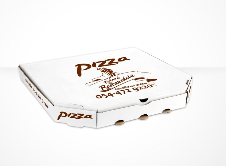one color pizza box
