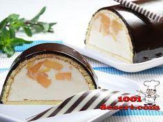 Холодный десерт без выпечки «Персик в молоке» » Простые десерты   на 1001 десерт