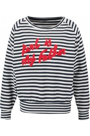Femme Sweatshirts - Eleven Paris KARLNEW Sweatshirt navy/grey
