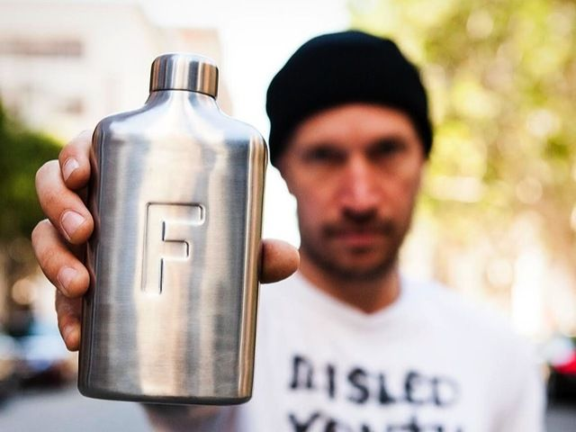 The water bottle that fits comfortably in your pocket, so you can carry more water with you more often.