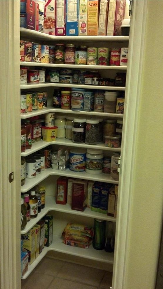 Hometalk :: Storage Solutions :: Lulu D's clipboard on Hometalk    Triple your storage space inside a small pantry closet!