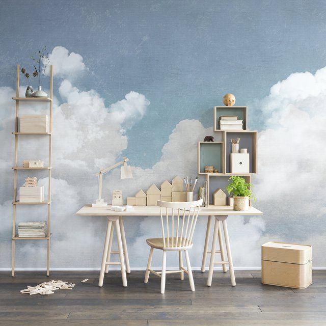 Un papier peint enfant avec des nuages, Rebel Walls