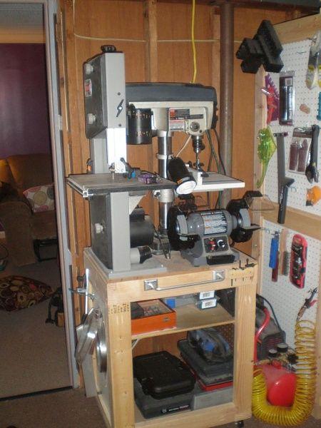 Fantastic Shop Tool Storage  By JayDee  LumberJockscom  Woodworking
