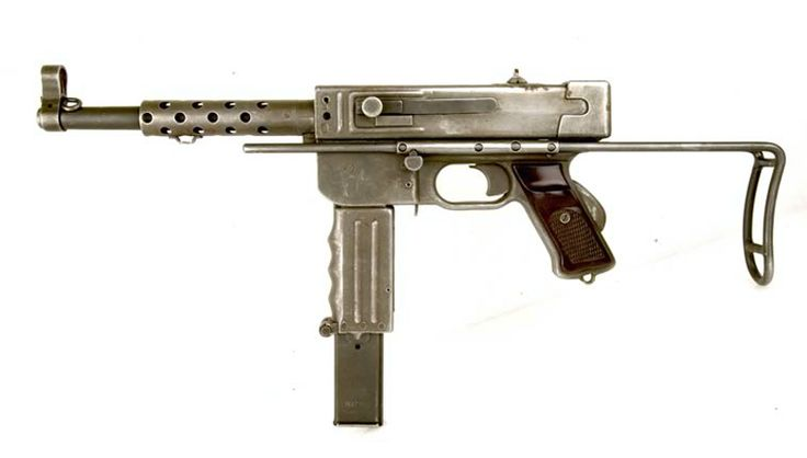 Pistolet Mitrailleur MAT49 (9mm) - Production Manufacture d'armes de Tulle (Corrèze), France