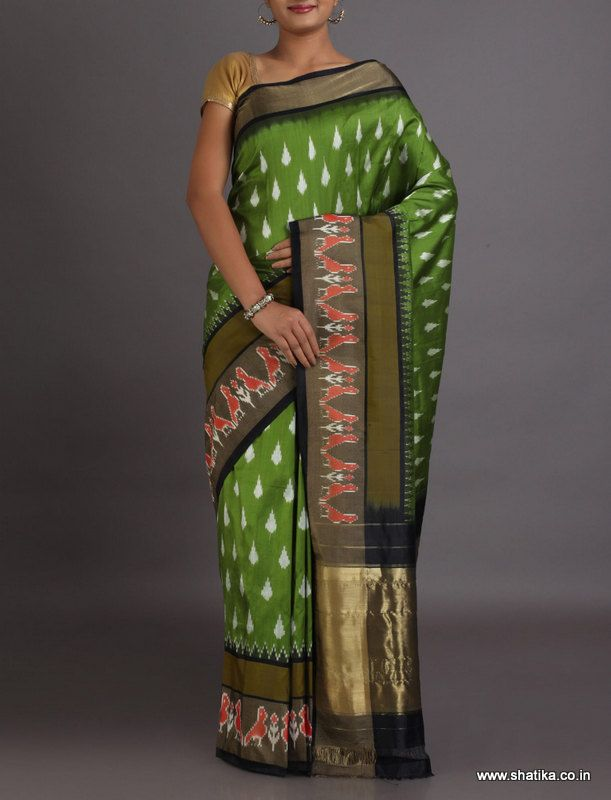 Citrangada Traditional Ikat #PochampallySilkSaree